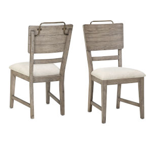 Ryan Hand-burnished smoky oak Side Chair