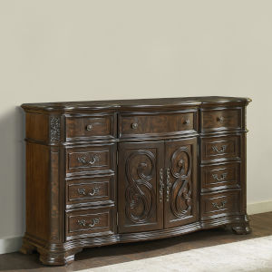 Royale Brown Cherry 20-Inch Dresser