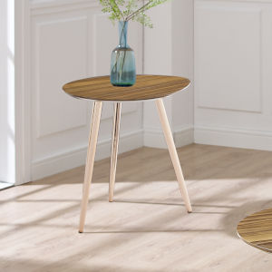 Torney Clear Natural End Table