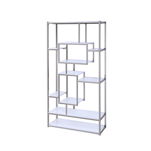 Alize White Bookcase