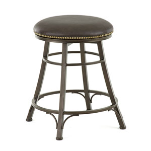 Bali Backless Swivel Counter Stool