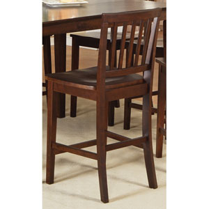 Branson Espresso Counter Chair