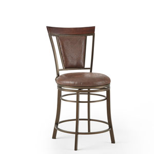 Cecile Swivel Counter Stool