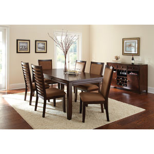 Cornell Table in Espresso with 18-Inch Leaf