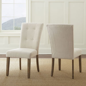Debby Side Chair Beige
