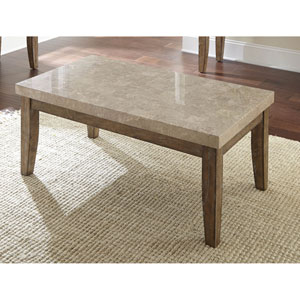 Franco Marble Top Cocktail Table