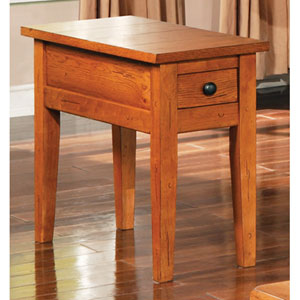 Liberty Oak Chairside End Table
