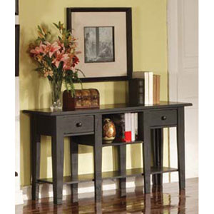 Liberty Antique Black Sofa Table