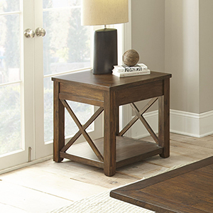 Lenka Mocha Oak End Table