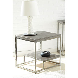Lucia End Table w/Nickel