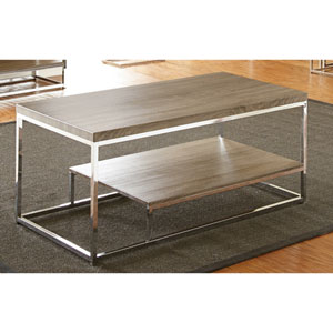 Lucia Cocktail Table, Grey/Brown
