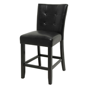 Monarch Black Counter Parsons Chair