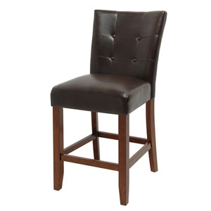 Montibello Dark Brown Counter Chair