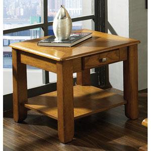 Nelson Oak End Table