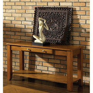 Nelson Oak Sofa Table