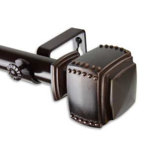 Bennett Bronze 160-240 Inches Curtain Rod