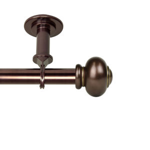 Rotunda Bronze 120-170 Inches Ceiling Curtain Rod