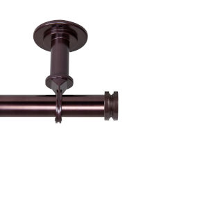 Bun Bronze 66-120 Inches Ceiling Curtain Rod