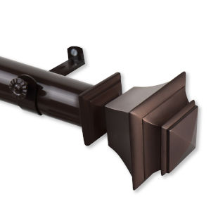 Bach Cocoa 48-84 Inches Curtain Rod