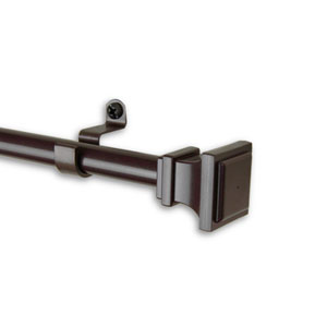 Frame Cocoa 28-48 In. Curtain Rod