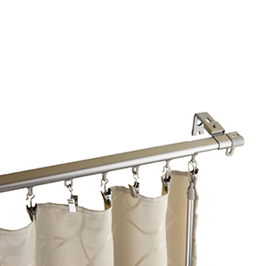 Regal Silver 66 to 120-Inch Curtain Track