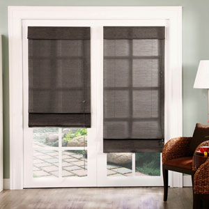 Nevada Oolong 72 x 24-Inch Roman Shade
