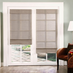 Nevada Timberwolf 72 x 24-Inch Roman Shade