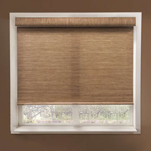 Felton Truffle 34-Inch x 72-Inch Deluxe Free-Stop Cordless Roller Shade