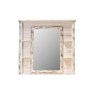 Montana Unfinished Deluxe Dresser Mirror