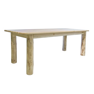 Montana Unfinished Dining Table Four Post