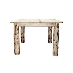 Montana Lacquered Dining Table Four Post Square