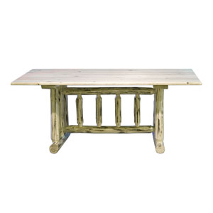Montana Lacquered Dining Table Trestle Based