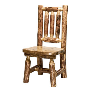 Glacier Country Stained and Lacquered Childs Chair