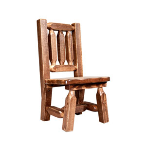 Homestead Stained and Lacquered Childs Chair