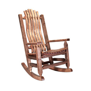 Homestead Stained and Lacquered Rocker Adult
