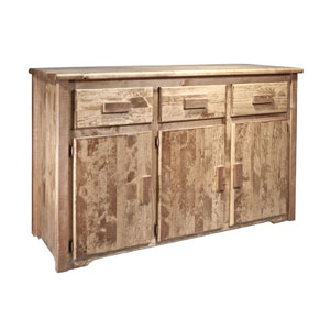Homestead Stained and Lacquered Sideboard