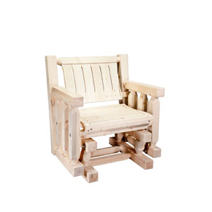 Homestead Exterior Stain Single Seat Glider Exterior Finish