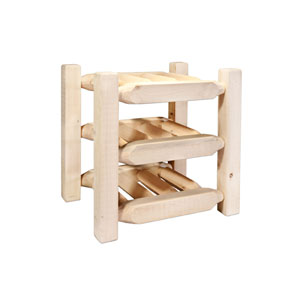Shop Unfinished Oak Wine Rack Bellacor