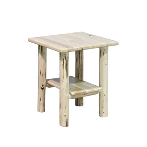 Montana Unfinished Nightstand w/ Shelf