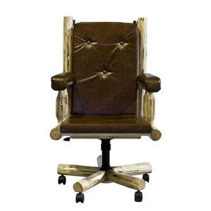 Montana Lacquered Upholstered Office Chair
