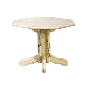 Montana Unfinished Table Center Pedestal