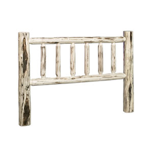 Montana Lacquered Log Headboard Twin
