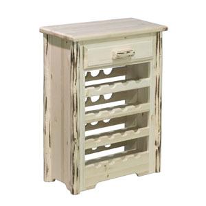 Montana Unfinished Wine Cabinet