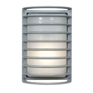 Bermuda Satin 7-Inch Led Outdoor Wall Sconce