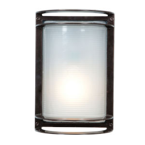 Nevis Bronze 7-Inch Led Outdoor Wall Sconce