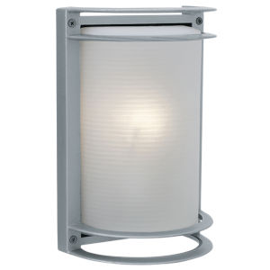 Nevis Satin 7-Inch Led Outdoor Wall Sconce