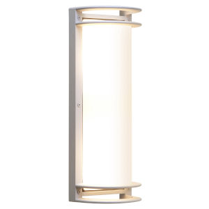 Nevis Satin 6-Inch Led Outdoor Wall Sconce