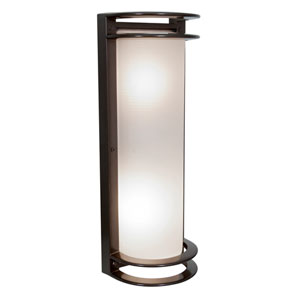 Nevis Bronze Two-Light LED Wall Sconce