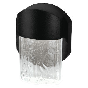 Mist Black 6-Inch Led Outdoor Wall Sconce