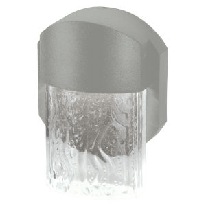 Mist Satin 6-Inch Led Outdoor Wall Sconce